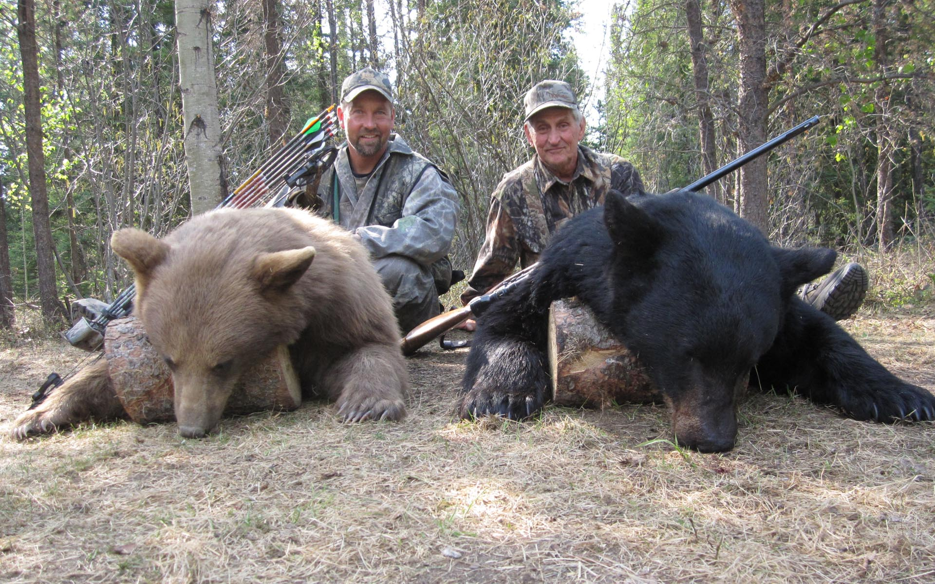 Black Bear Hunting Burnt Lake Outfitters